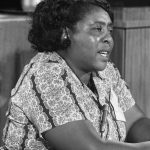 Fannie Lou Hamer (1917–1977), Civil Rights Activist black woman disabled with a disability from polio