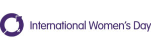 The International Women's Day logo - Be bold for change