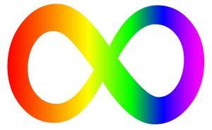 Autistic autism infinity symbol among self-advocates