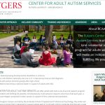 Rutgers Center for Adult Autism Services - inclusion for autistic adults in the community