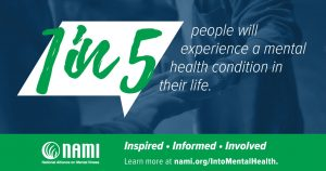 Mental Health Month awareness 1in5