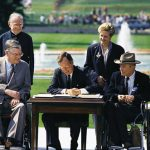 President Bush signs ADA into law for rights of people with disabilities