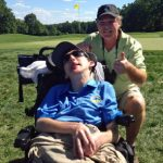 Assistive Technology enables Dave to share him and his dad share their passion for golf.