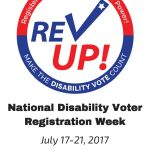 REV UP! is advocacy & self-advocacy campaign among people with disabilities to use their right to vote.
