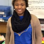 Tameka Powell was honored as Direct Support Professional of the Month for her dedication to residents with disabilities.