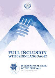 deaf awareness poster Deafblind awareness week 2017 deafblind awareness week 2017 sight and hearing loss is more common than you think click here for the event poster.