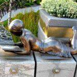 Dyslexia awareness: Inner Struggle - sculpture depicting imaginative power of dyslexia