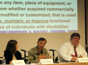Fred Tchang, Director of Assistive Technology Services, will present at a statewide conference.
