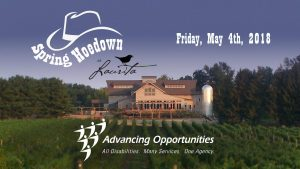 Spring Hoedown fundraiser