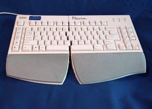 Kinesis Maxim ergonomic keyboard