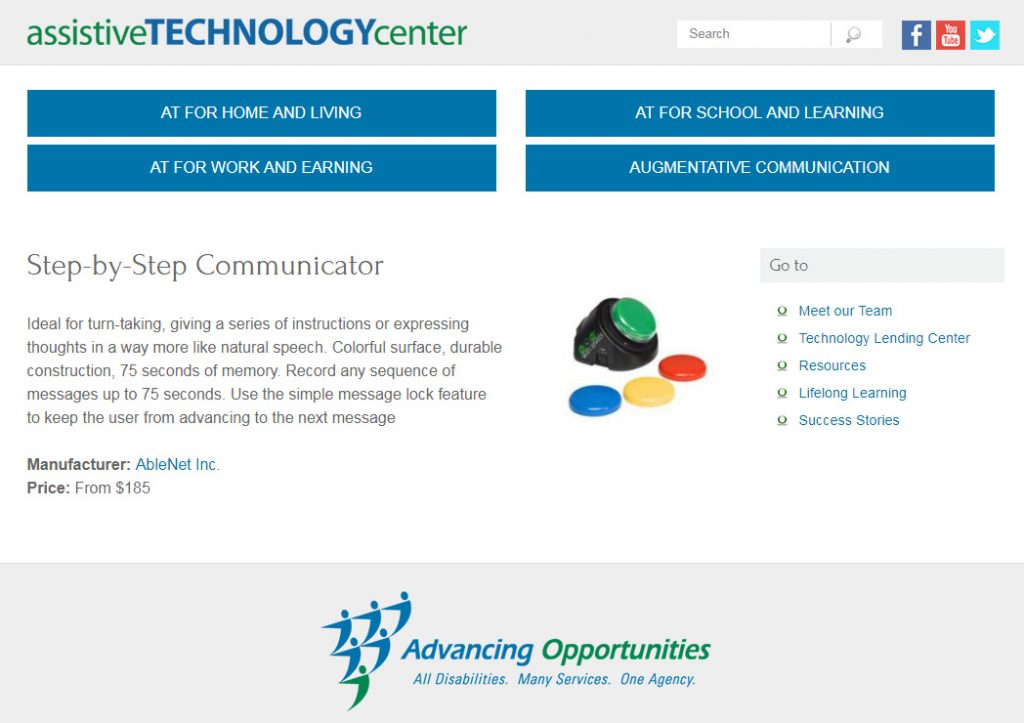 Communication accessibility