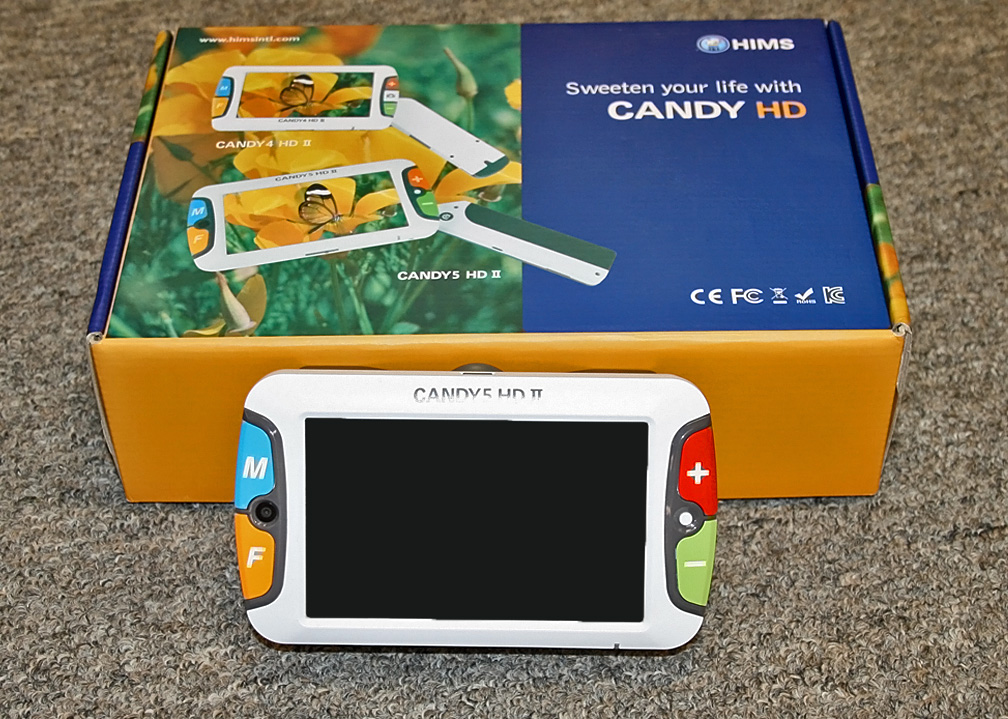 CANDY 5 video magnifier