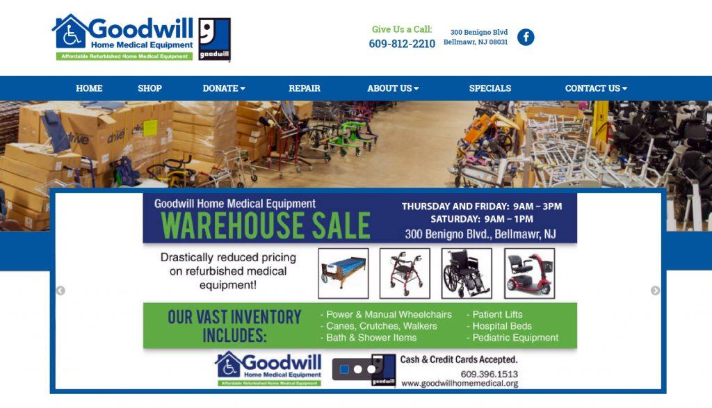 Goodwill New Jersey assistive technology