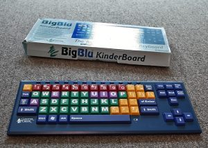 BigBlu KinderBoard vision impaired children