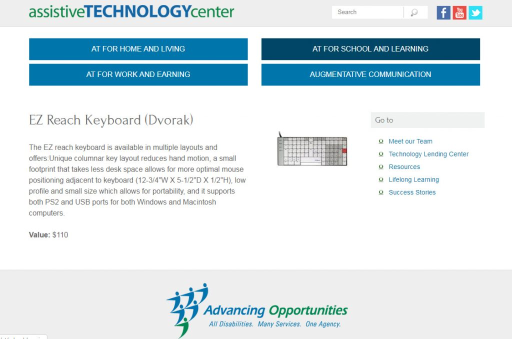 EZR 2030 Ergonomic Keyboard