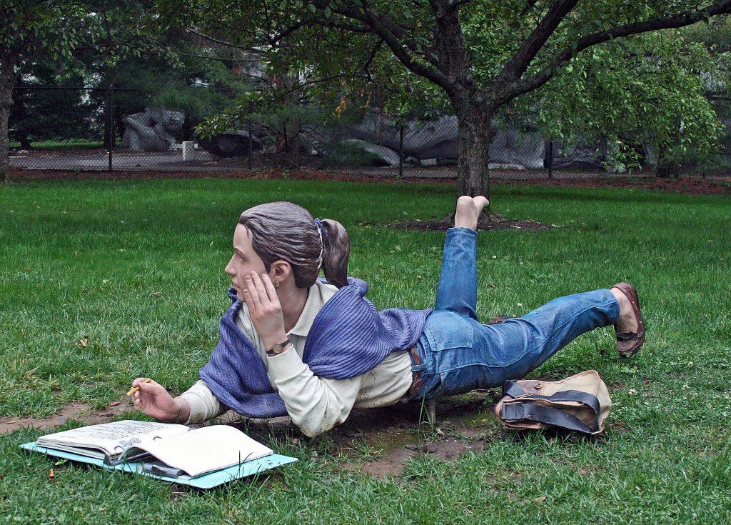 New Jersey Grounds for Sculpture summertime