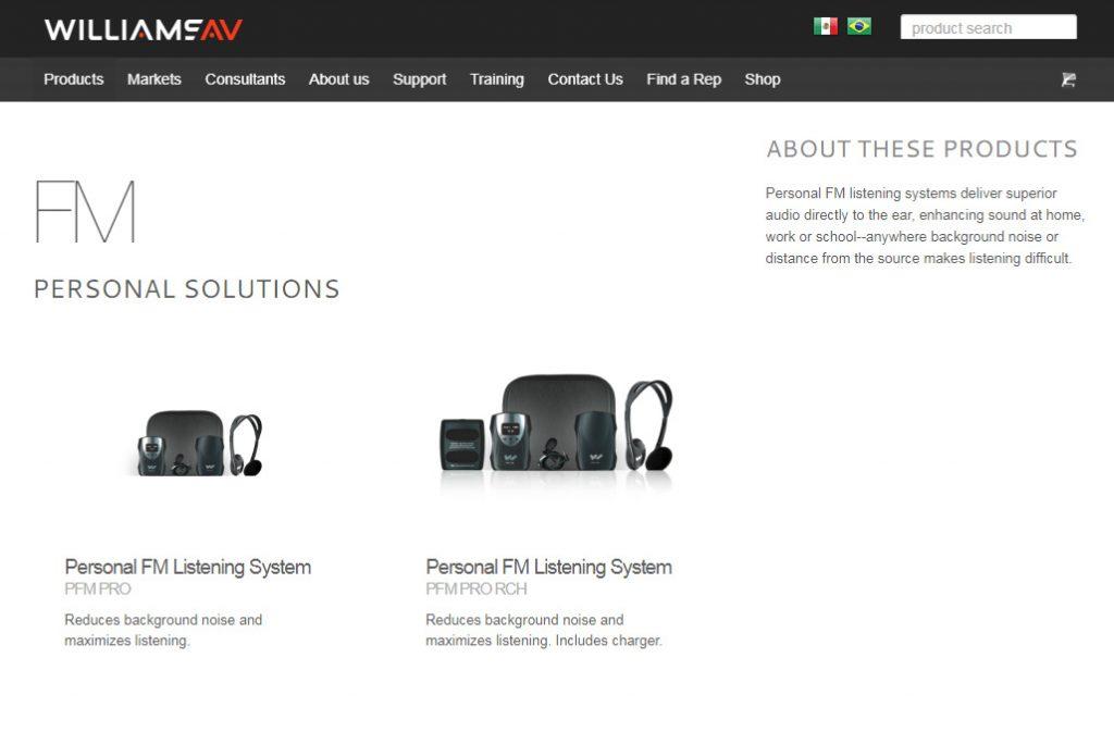 Easy Listener FM system hearing