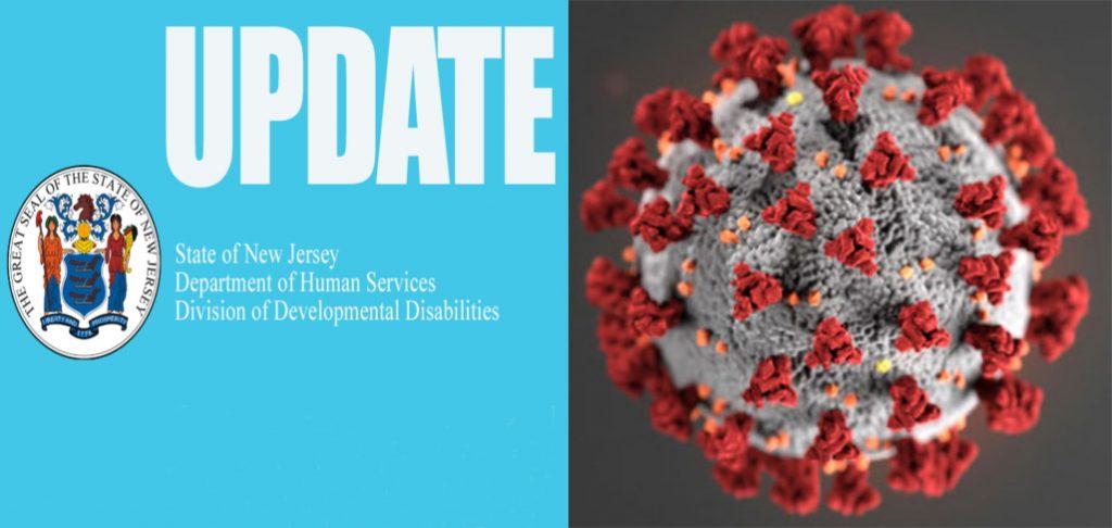 DDD coronavirus New Jersey
